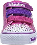 Skechers Kids 10249N Triple Up and Light-Up Sneaker