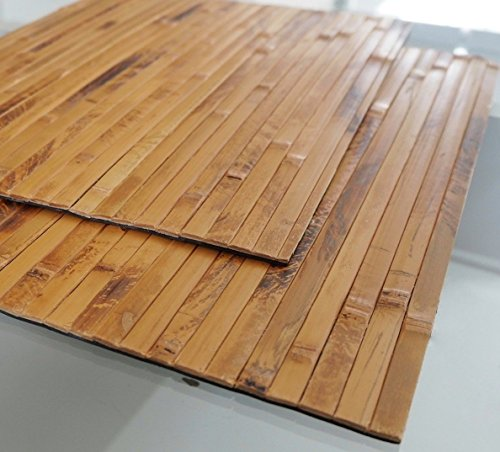 Bamboo Placemats Set of 2, Handmade, Natural, Eco-friendly for sale  Delivered anywhere in USA