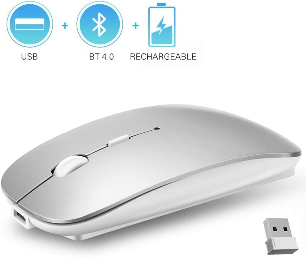 Mouse inalámbrico Bluetooth de 2.4GHz-LM2J