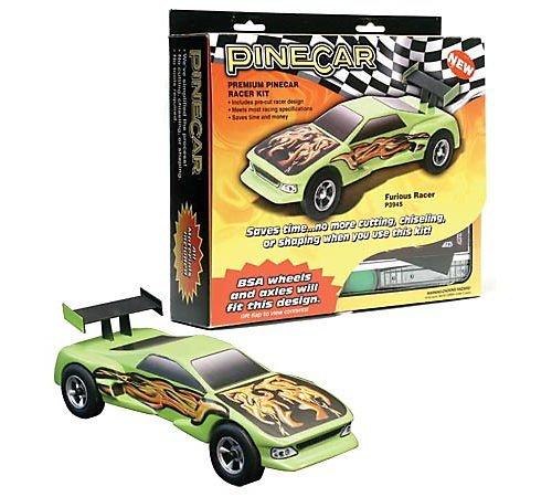 Pinecar Premium Car Kit, Furious Racer, PIN3945