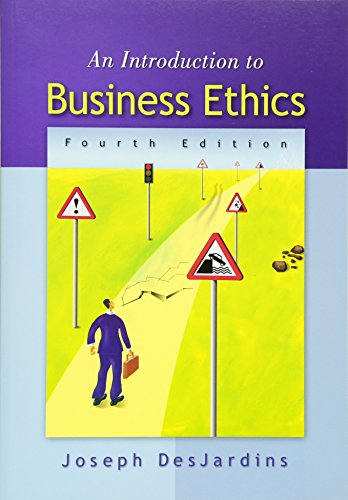 An Introduction to Business Ethics by Brand: Humanities Social Science