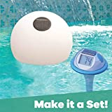 GAME 14030-BB Solar Digital Pool & Spa Thermometer