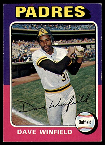 Baseball MLB 1975 Topps #61 Dave Winfield Excellent - Memorabilia Dave Winfield