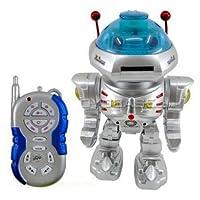 Radio con control remoto RC Dancing Robot w /R /C Missile Disc Launcher de PowerTRC