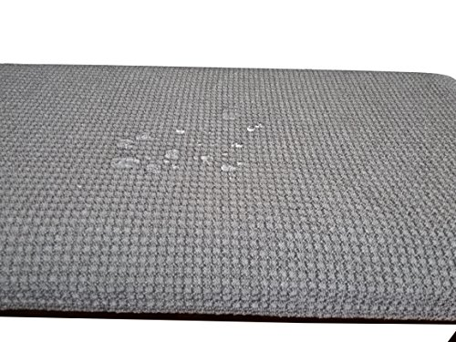 Waterproof Piano Bench Cover Protector - Perfect For Pets, Kids, Elderly, Wedding, Party - Machine Washable, Elastic, Removable,Many Color Choices, Clean the Mess Easily(Grey) by Qualitrusty (Image #4)