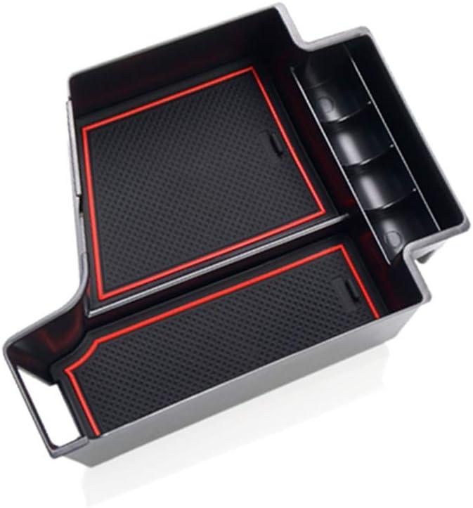 Jiahe Aufbewahrungsbox Für V Olvo Xc60 S90 V90 2018 2019 No Cd Player Auto Konsole Armlehne Tablett Halter Hülle Palette Rutschfeste Handschuhfach Storage Box Innen Auto
