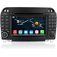 Quad Core 1024600 Android 5.1 Car DVD GPS Navigation Multimedia Player Car Stereo for Benz S Class W220 S280 S420 S430 S320 S350 S400 S500 S600 Radio 3G Wifi Bluetooth Steering Wheel Control