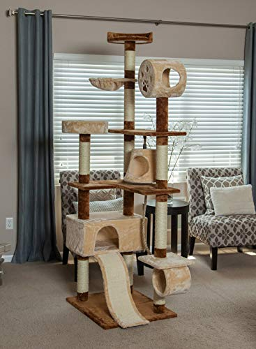 IRIS 6-Tier Cat Tree Condo ()