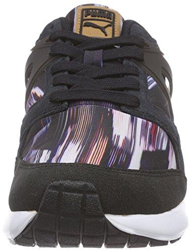 Graphic Zapatilla Wn's Fast black deportiva Multicolor mujer steel 01 para sintético Aril Puma gray material de fqgwEFEAB