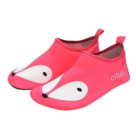 NAN Zapatos de agua Descalzo Rápido Seco Esquí acuático Yoga ...