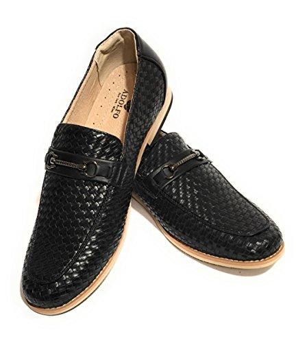 Adolfo Justin Chaussures Habillées Pour Hommes (noir, 9,5 Us)