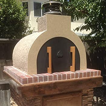 Outdoor Pizza Oven Kit • DIY Pizza Oven - The Mattone Barile Foam Form (Medium Size) provides the PERFECT shape / size for building a money-saving homemade Pizza Oven with locally sourced Firebrick.