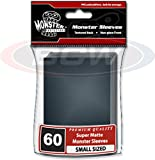 (30) Packs of Small Black Trading Card Sleeves - Monster Protectors - BCW-MSL-SMN-BLK