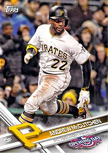 2017 Topps Opening Day #120 Andrew McCutchen Pittsburgh Pirates Baseball Card