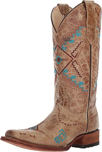 Corral Boots Women's L5297 Chocolate/Cognac Boot