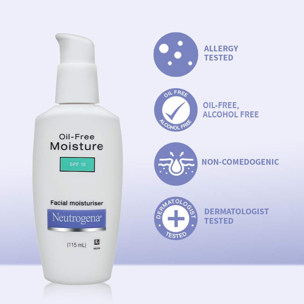 Neutrogena face moisturizer (Neutrogena products for oily skin)