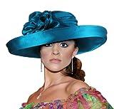 Kentucky Derby Year-round Hat with Brim - 47100 Grey