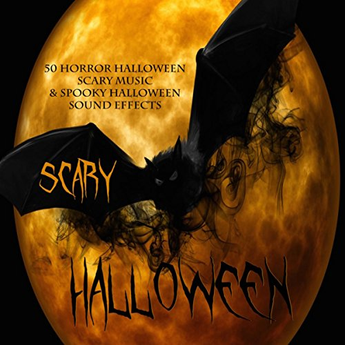 Scary Halloween - 50 Horror Halloween Scary Music & Spooky Halloween Sound Effects for $<!--$7.99-->