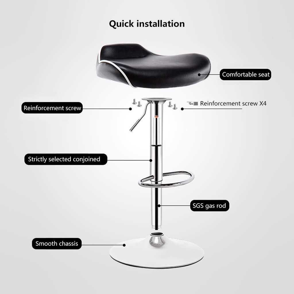 Amazon.com: ch-AIR - Taburete de bar (rotación de 360 grados ...