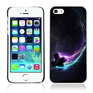 Designer Depo Hard Protection Case for Apple iPhone 5 5S / Cool Flying Cross