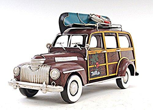 1947 Suburban Woody Metal Car Model 14