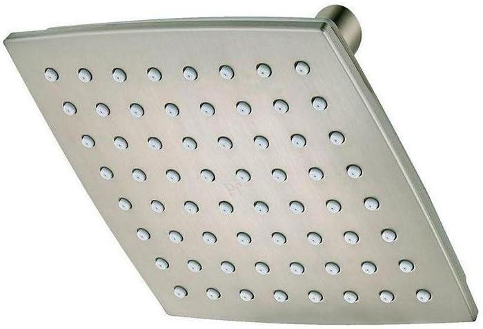 Pfister 015-WSVNKK Venturi 1-Spray 6 Fixed Shower Head, Brushed Nickel