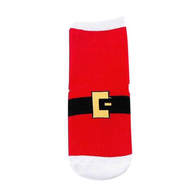 guobin Navidad Calcetines DecoracióN Regalo Bolsa Santa MuñEco De Nieve NiñO Lindo Personaje De Dibujos Animados: Amazon.es: Ropa y accesorios