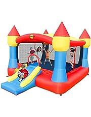 Happy Hop Super Castle Bouncer with Slide