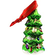 Waterford Holiday Heirlooms Decorated Christmas Tree Ornament with Glitter #153721
