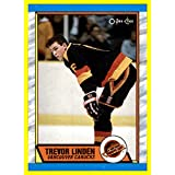 1989-90 O-Pee-Chee #89 Trevor Linden RC VANCOUVER CANUCKS ROOKIE