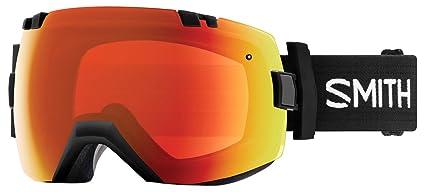 c4f3d2da6c2fc Smith Optics Adult I OX Snow Goggles Black Frame ChromaPop Everyday Red  Mirror
