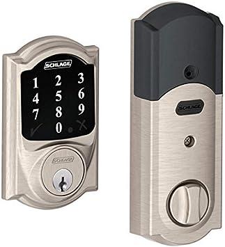 Schlage be468cam619 – 2 clave Z-Wave tecnología Connect Camelot ...