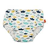 Lassig Baby Swim Diaper UV-Protection 50-Plus, Paper Boat, 24-Month