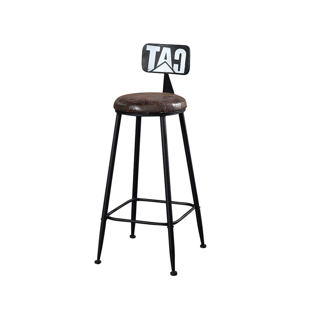 A RUNWEI Bar Stool High Stool Fashion Home Decoration Stool Home Business Office Chair (color   C)
