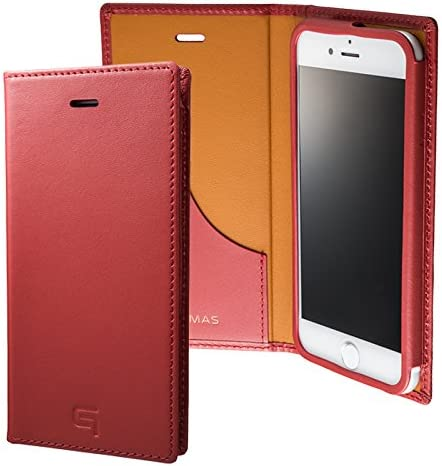 GRAMAS Full Leather Case GLC626 for iPhone 8/7 (Red)