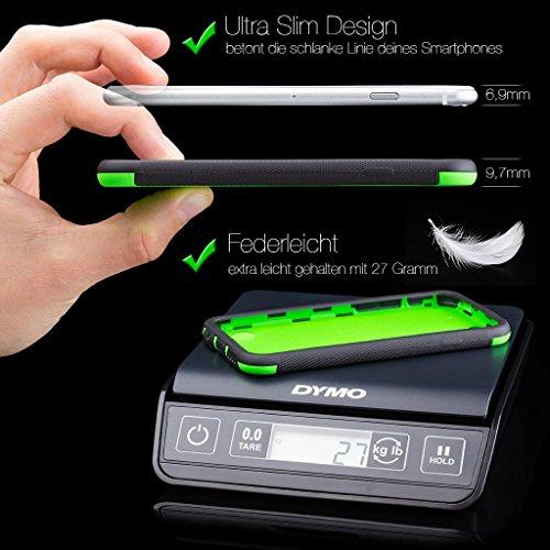 Apple iPhone 4 / 4S | iCues despejan el caso de TPU púrpura | luz extra lámina transparente muy fina protector exterior gruesa dura de la caja a prueba de golpes 360 grados Pantalla de cuerpo completo Outdoor Fucsia