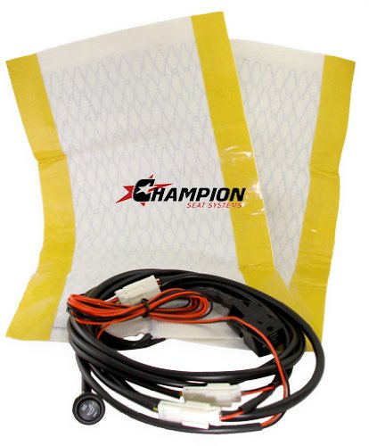 Champion Seat Systems Dual Setting Universal Carbon Fiber Seat Heater