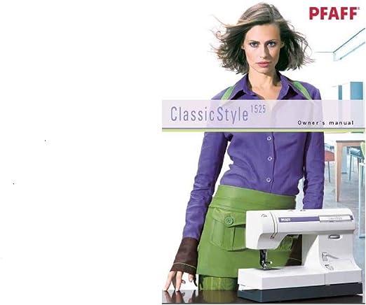 Descargar Pdf-File Pfaff Classic Style 1525 máquina de coser ...