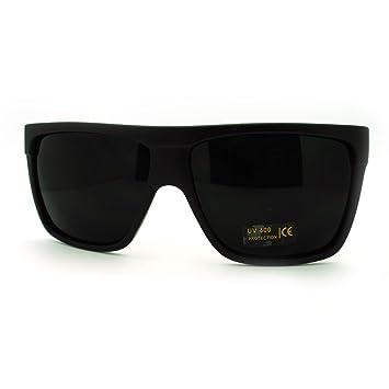 Moda Súper Gafas de Sol Lentes Flat Top Cuadrado Mob Gran ...