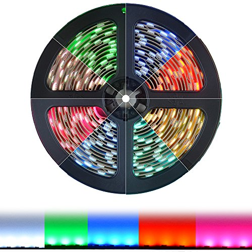 Color Changing Led Light Strips: HitLights RGB Multicolor Changing SMD5050 LED Light Strip