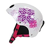 Pacific Cycle 0478405-2 Girls Toddler Snow Helmet, White