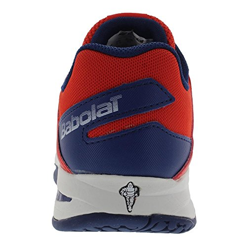Red Court Propulse Blue Estate Bright Tennis Shoes All Babolat Junior w0Hna1Hqp