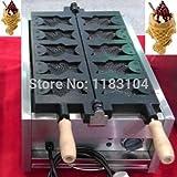 Free Shipping to Indonesia/Malaysia/Singapore/Thailand/Philippines/Vietnam Big Mouth Ice Cream Taiyaki Maker Machine