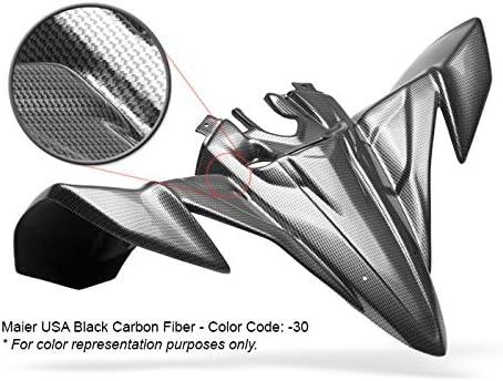 Maier USA Gas Tank Cover for Honda TRX400EX Sportrax 11744-30 Black Carbon Fiber