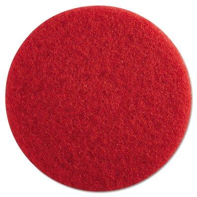 PAD4013RED Standard 13-Inch Diameter Buffing Floor Pads, Red Floor Stripper Machines