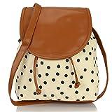 Kleio Women's Sling Bag (Ivory Cream, Bnb315Ly-Cr)