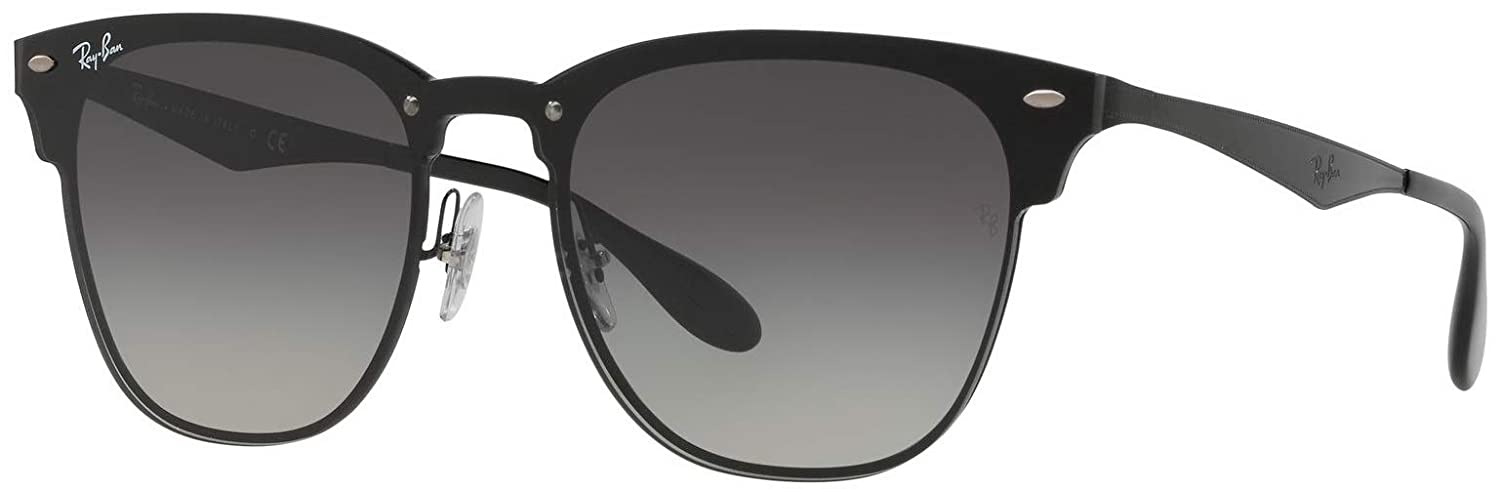 84f214eea3 Amazon.com  Ray-Ban RB3576N Blaze Clubmaster Unisex Gradient Sunglasses 153  11 - 47mm  Clothing