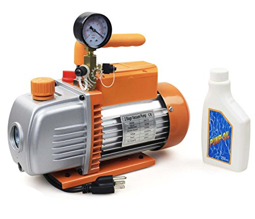 hvac vacuum pump 2 stage - 6