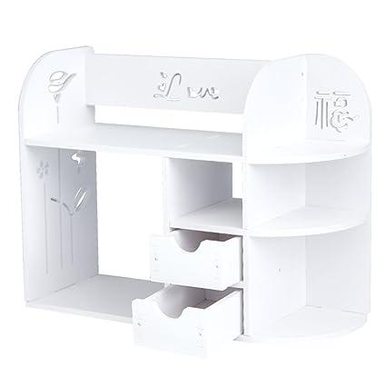 Rart Organizador de escritorio cajón diy,Breve librero estante del ...