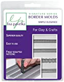Polymer Clay Art Supplies (Style-090) - Border Mold for Crafting - Simple Elegance